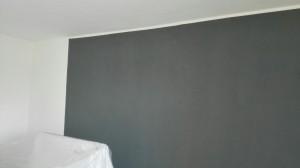 Výmalba stěny - Cerekvice nad Bystřicí